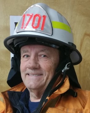 Guemes Island Fire Chief Gerry Francis Retires